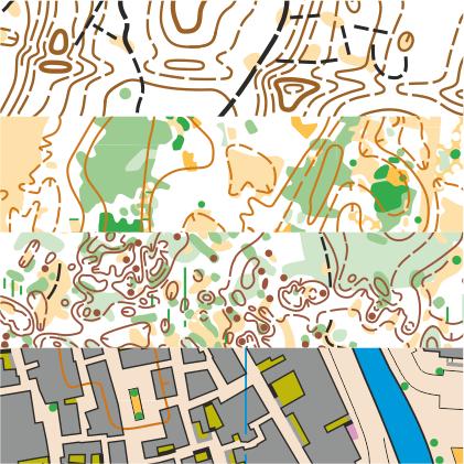 training maps sand dunes